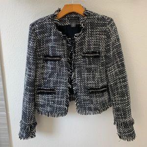 INC Tweed Jacket